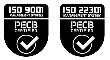 ISO 9001, ISO 22301